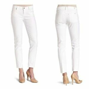 7 for all Mankind Slim Straight Midrise Jeans 28